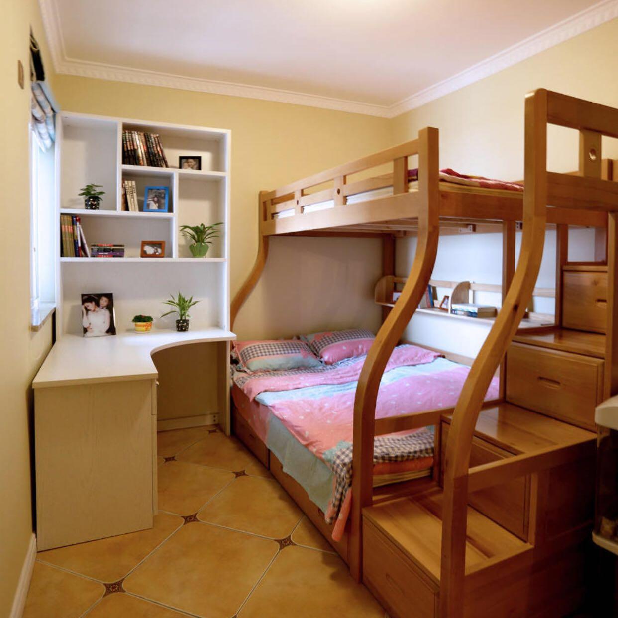 混搭 80后 小资 儿童房图片来自北京轻舟幸福亿家装饰晶晶在102平混搭风格的分享