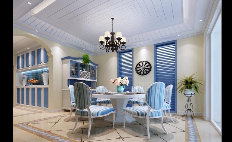 地中海 四居 白领图片来自居众装饰长沙分公司在地中海的春天的分享