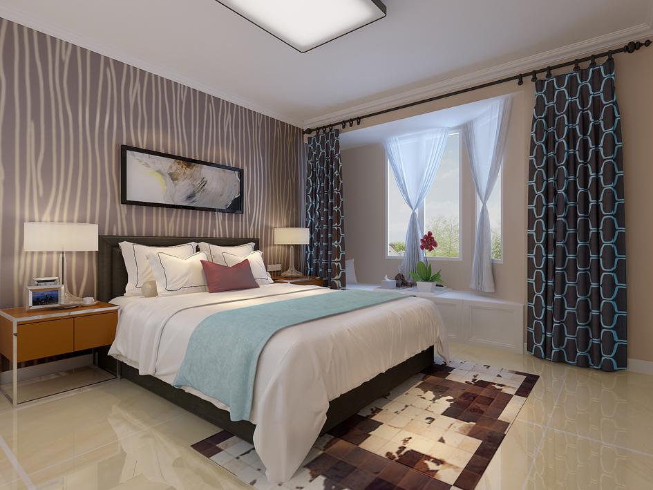 简中式 卧室图片来自阿布的小茅屋15034052435在新晋世家158平米--简中式的分享