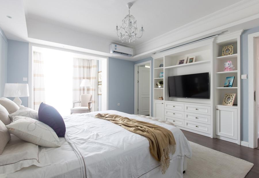 三居 卧室图片来自今朝装饰张智慧在首开璞瑅公馆简美风格设计的分享