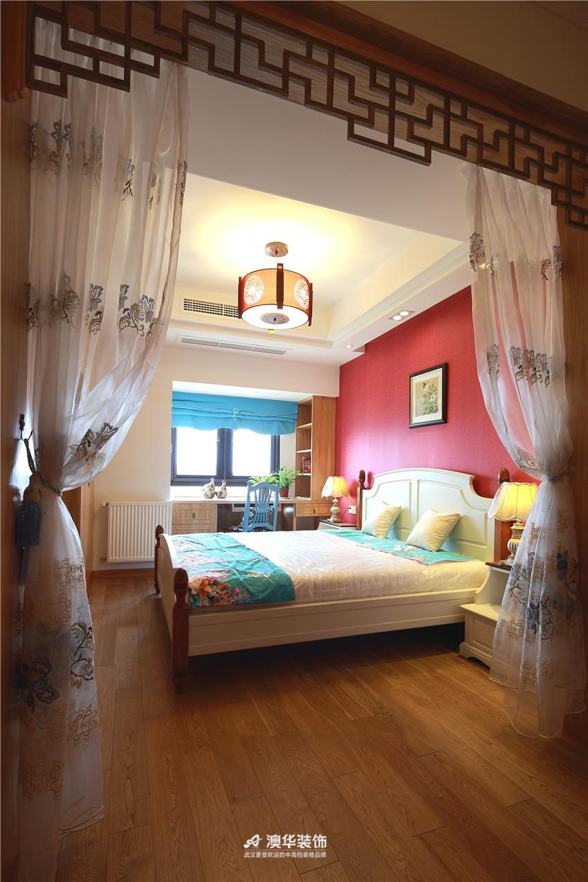中式 二居 卧室图片来自澳华装饰有限公司在华润中央公园· 新中式风韵的分享