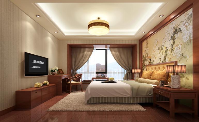 卧室图片来自半城烟沙5949758236在万科悦湾——中式风格的分享