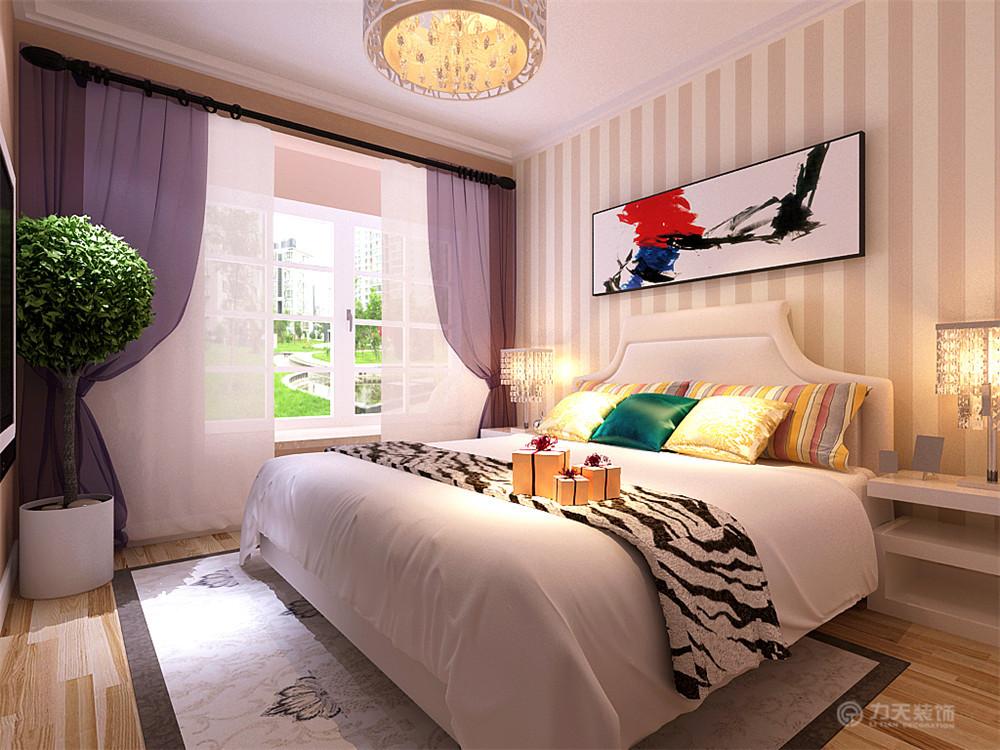 卧室图片来自阳光力天装饰在现代风格  香邑国际  93㎡的分享