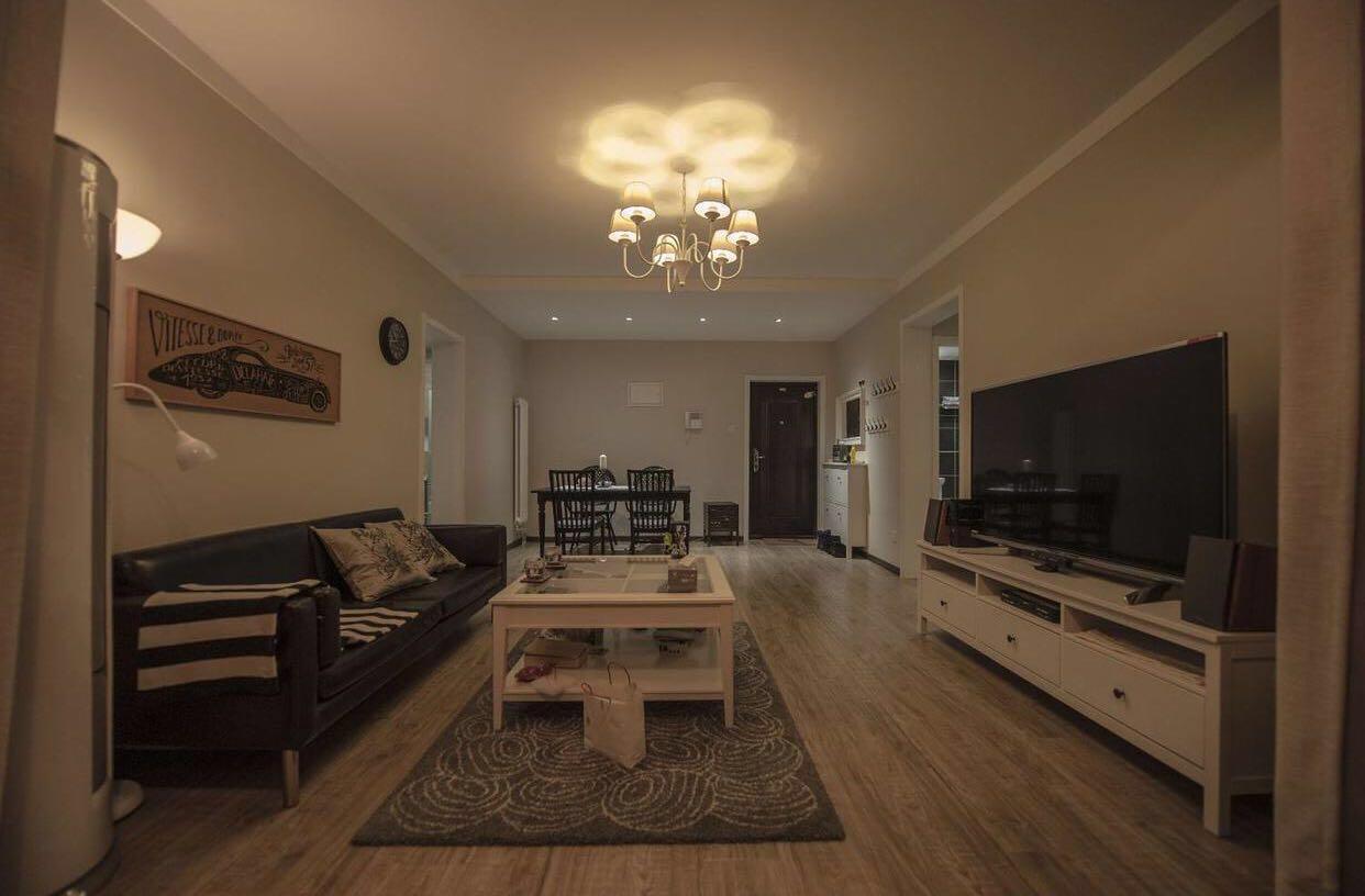 北欧 宜家80后 客厅图片来自北京轻舟幸福亿家装饰晶晶在85平西山湖北欧风格的分享