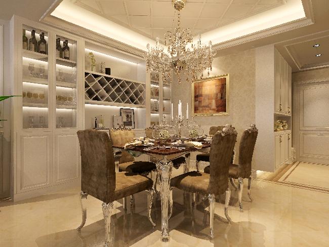 业之峰装饰 餐厅图片来自西安业之峰装饰在曲江永和坊的分享