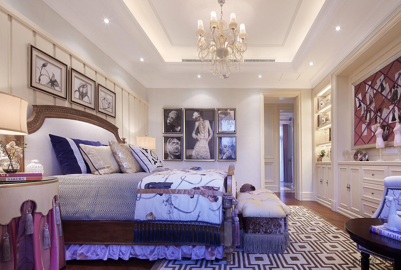 简约 欧式 田园 混搭 三居 白领 收纳 旧房改造 80后 卧室图片来自北京紫禁尚品国际装饰kangshuai在中海国际港的分享