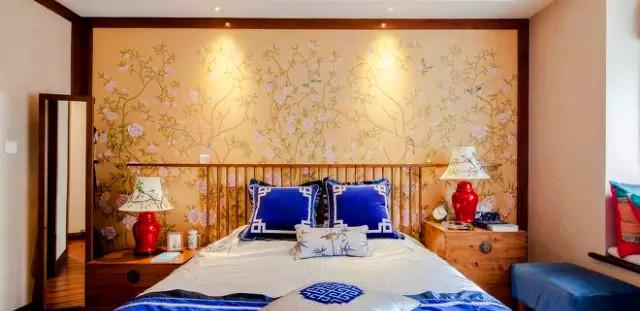 金泰 丽湾 三居 装修 设计 户型 卧室图片来自高度国际装饰宋增会在金泰丽湾103㎡东方韵味雅舍的分享
