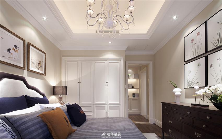 卧室图片来自澳华装饰有限公司在金地圣爱米伦·时尚简欧 精致生活的分享