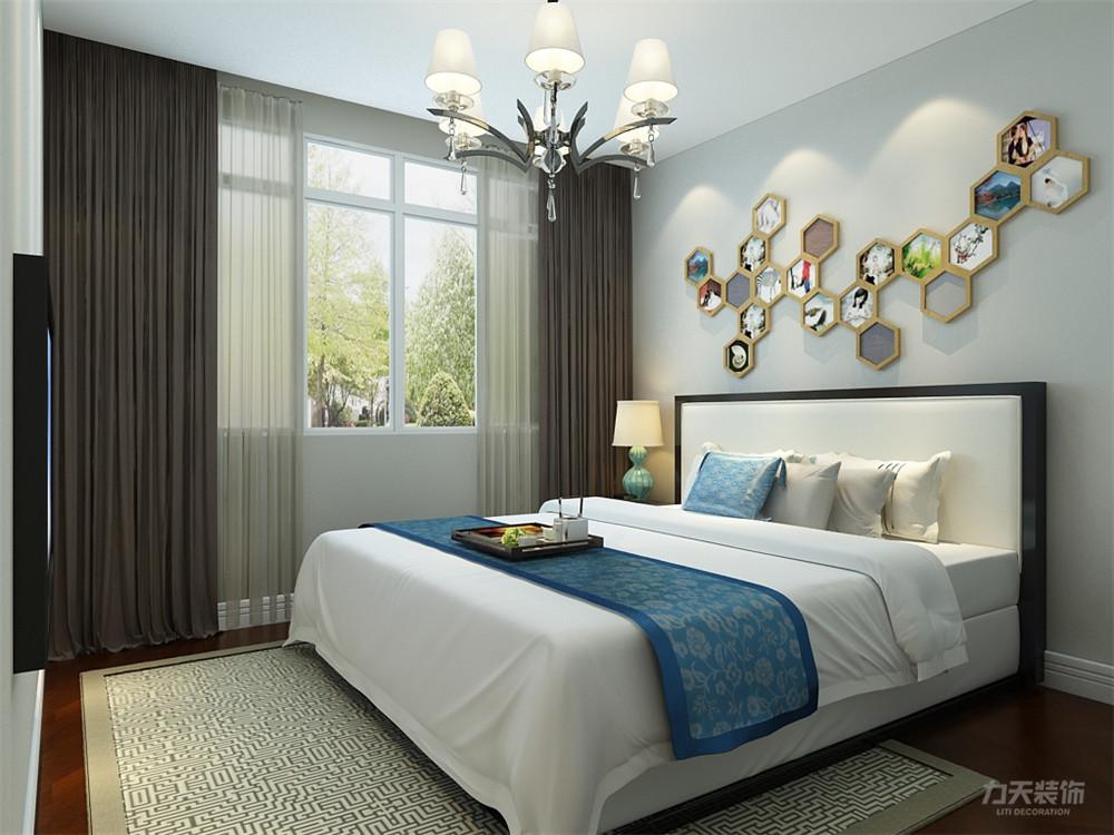 简约 二居 白领 收纳 80后 小资 卧室图片来自阳光放扉er在力天装饰-玺岳94㎡现代的分享
