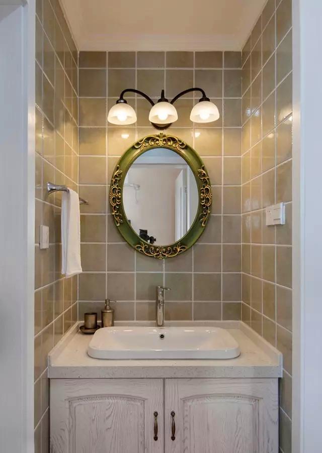 K2 玉兰湾 美式 装修 设计 三居 卫生间图片来自高度国际装饰宋增会在玉兰湾134㎡灵动美式 风格的分享