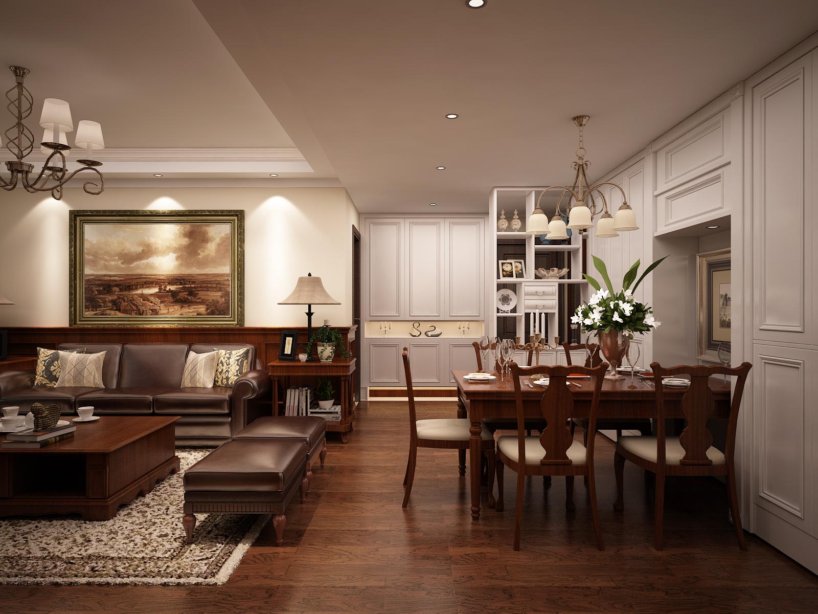 美式 家具 客餐厅 卧室 金色堤岸 餐厅图片来自兰州实创装饰香香在金色堤岸 美式风格的分享