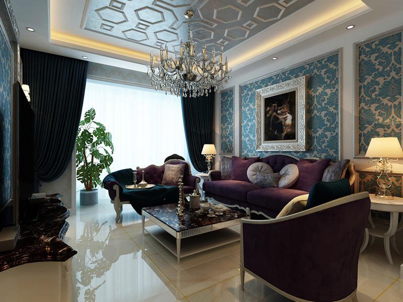 现代 客厅图片来自安豪装饰在恒 大 华 府的分享