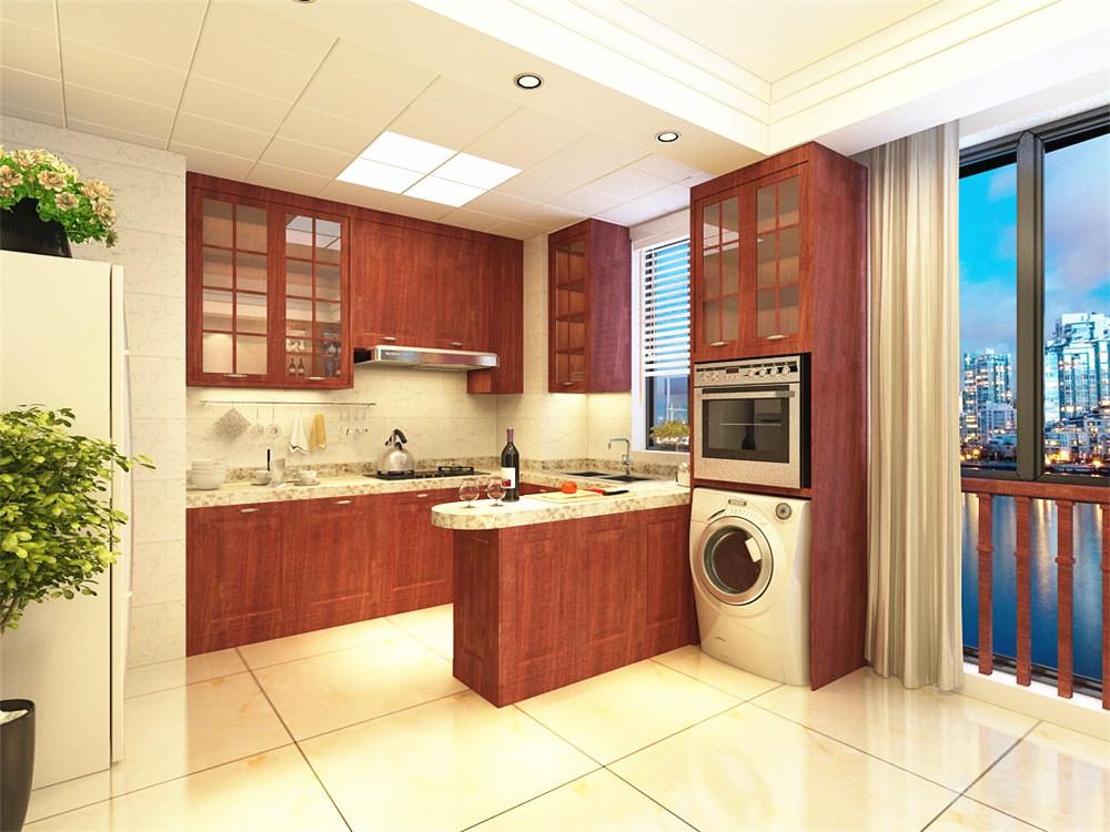 三居 混搭 收纳 白领 80后 小资 厨房图片来自阳光力天装饰在现代混搭 水岸公馆  154㎡的分享