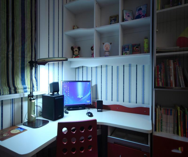 简约 混搭 三居 白领 80后 小资 书房图片来自成都V2装饰在空间的温情与善意的分享