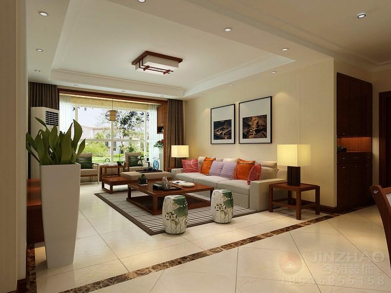 客厅图片来自装家美在北美金棕榈140平米-现代简约的分享
