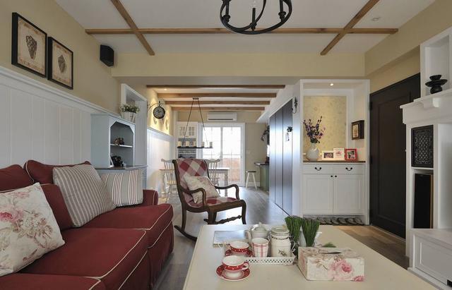 客厅图片来自广州泥巴公社装饰小方在广地花园*田园风格的分享