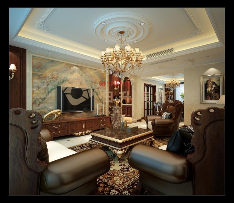 简约 欧式 混搭 二居 别墅 旧房改造 收纳 小资 80后 客厅图片来自日升装饰秋红在金辉融侨城欧式古典风格的分享