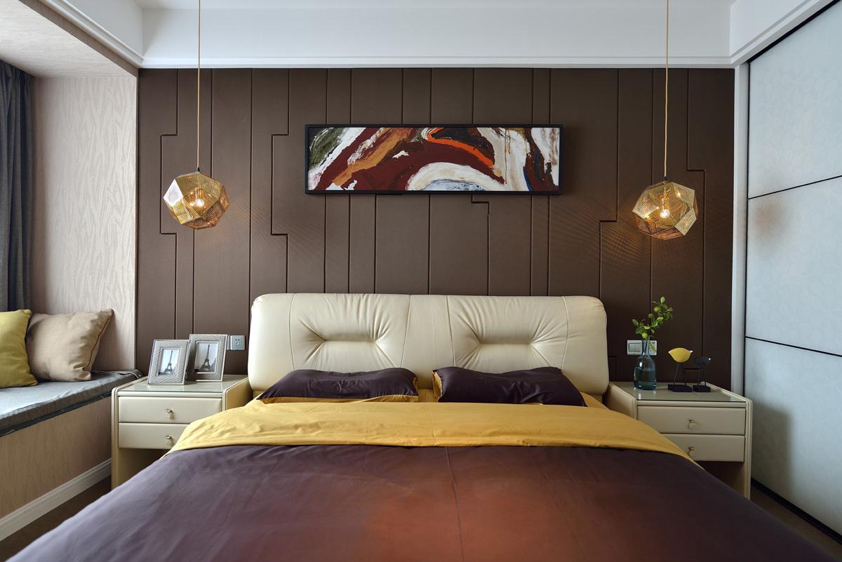 混搭 卧室图片来自安豪装饰在华 府 骏 苑的分享