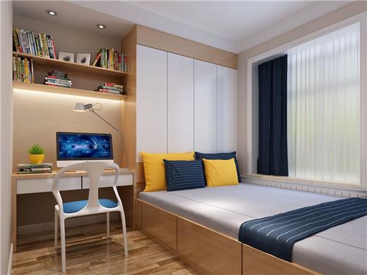 三居 简约 西安公司 日升装饰 西安装修 卧室图片来自日升装饰公司在逸翠园140平米现代的分享