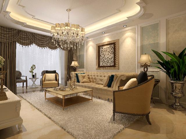 业之峰装饰 西安业之峰 客厅图片来自西安业之峰装饰在曲江永和坊的分享