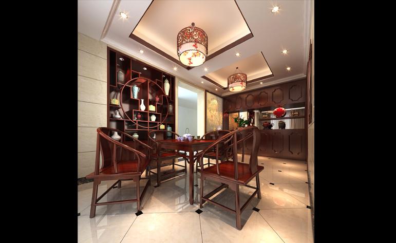 餐厅图片来自半城烟沙5949758236在恒大华府——中式风格的分享