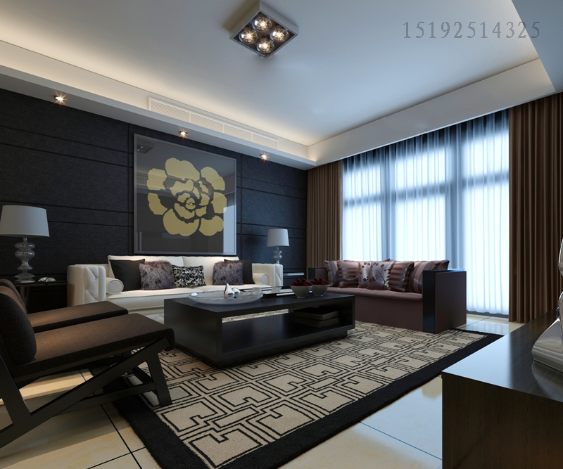 实创 印象湾 三居室 客厅图片来自快乐彩在印象湾124平后现代的分享