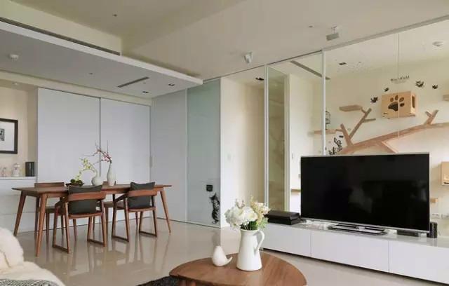 上河湾 二居 北欧 装修设计 户型 客厅图片来自高度国际装饰宋增会在上河湾85㎡北欧设计的分享