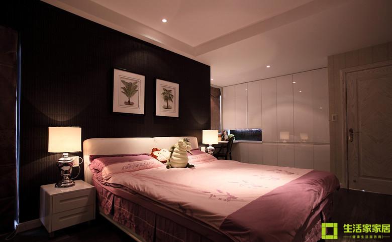 简约 三居 白领 收纳 80后 小资 后现代风格 生活家家居 卧室图片来自天津生活家健康整体家装在雅仕兰庭  后现代的分享