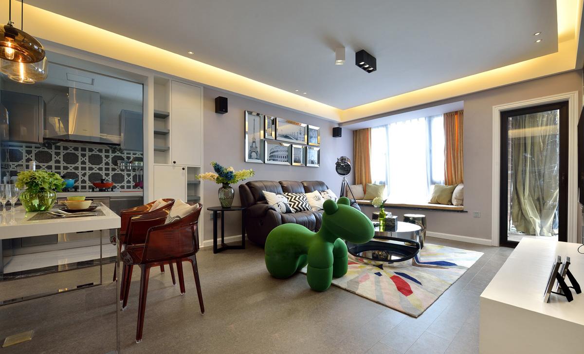 混搭 客厅图片来自安豪装饰在华 府 骏 苑的分享