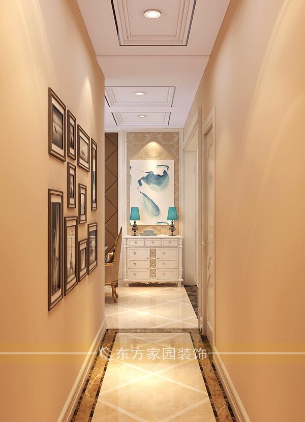三居 套三双卫 收纳 欧式图片来自青岛东方家园装饰小王在麗山国际143平简欧风格装修图的分享
