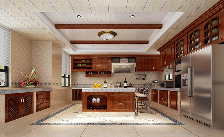 混搭 别墅 地中海 厨房图片来自居众-姚工在悠闲大气,宁静自然的分享