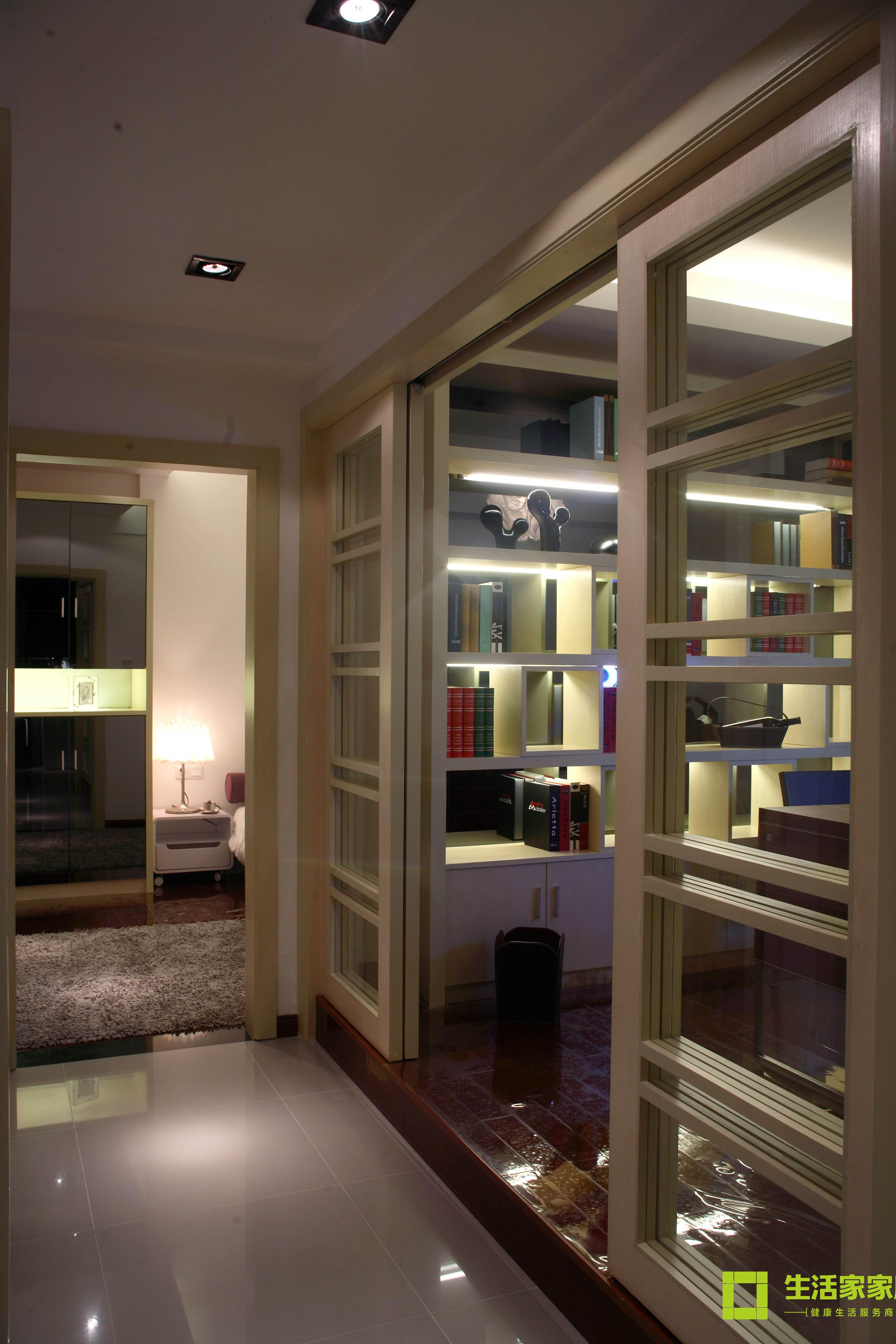 简约 三居 白领 收纳 80后 小资 现代简约 生活家家居 书房图片来自天津生活家健康整体家装在中信城市广场 现代简约的分享