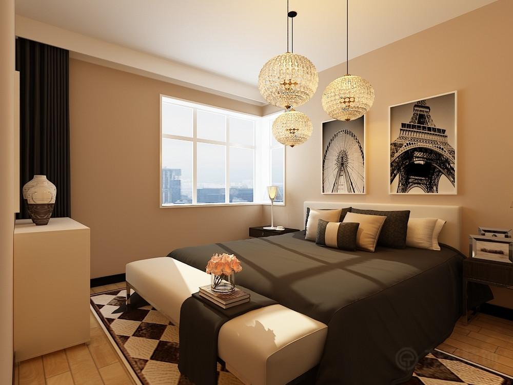 卧室图片来自阳光力天装饰在现代简约 四季恋城  89.8㎡的分享