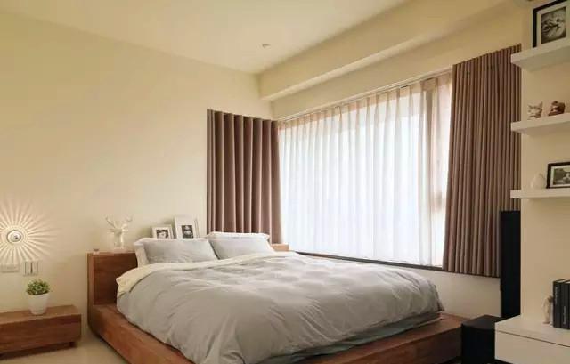 上河湾 二居 北欧 装修设计 户型 卧室图片来自高度国际装饰宋增会在上河湾85㎡北欧设计的分享