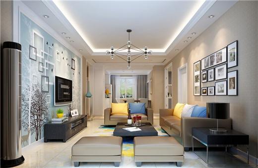 三居 简约 西安公司 日升装饰 西安装修 客厅图片来自日升装饰公司在逸翠园140平米现代的分享