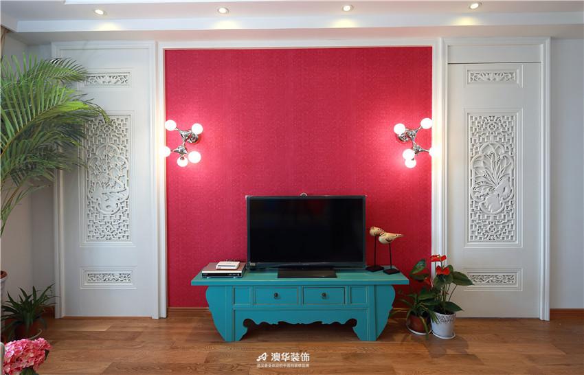 中式 二居 客厅图片来自澳华装饰有限公司在华润中央公园· 新中式风韵的分享