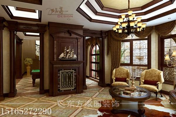 别墅 地下负一层 收纳 欧式图片来自青岛东方家园装饰小王在骊山国际380平+地下210平装修的分享