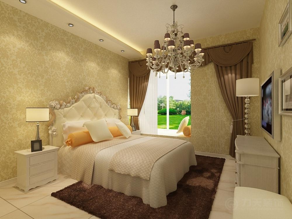 卧室图片来自阳光力天装饰在简欧 保利上河雅颂 110㎡的分享