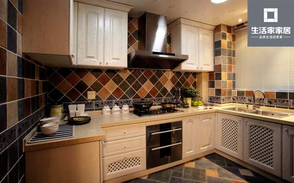 现代美式 品质 三口之家 厨房图片来自武汉生活家在泛海国际130平三房两厅现代美式的分享