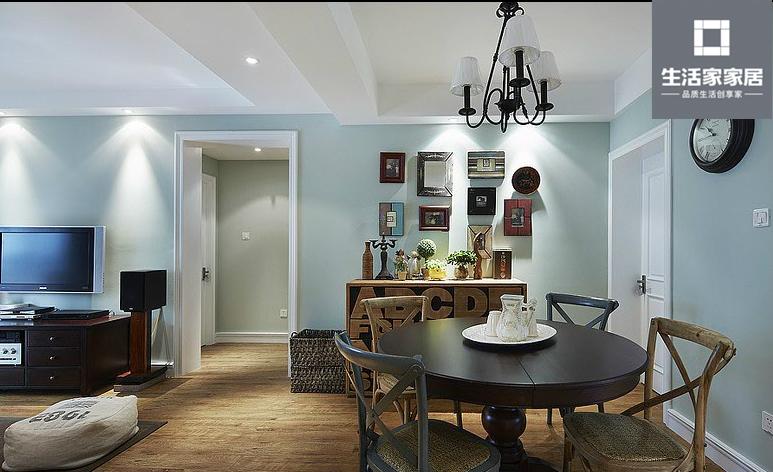 现代美式 品质 三口之家 餐厅图片来自武汉生活家在泛海国际130平三房两厅现代美式的分享