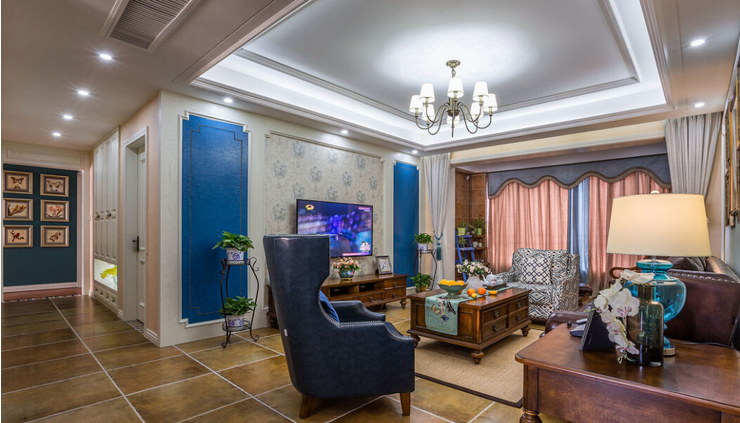别墅 客厅图片来自西安紫苹果装饰工程有限公司在曲江新都的分享