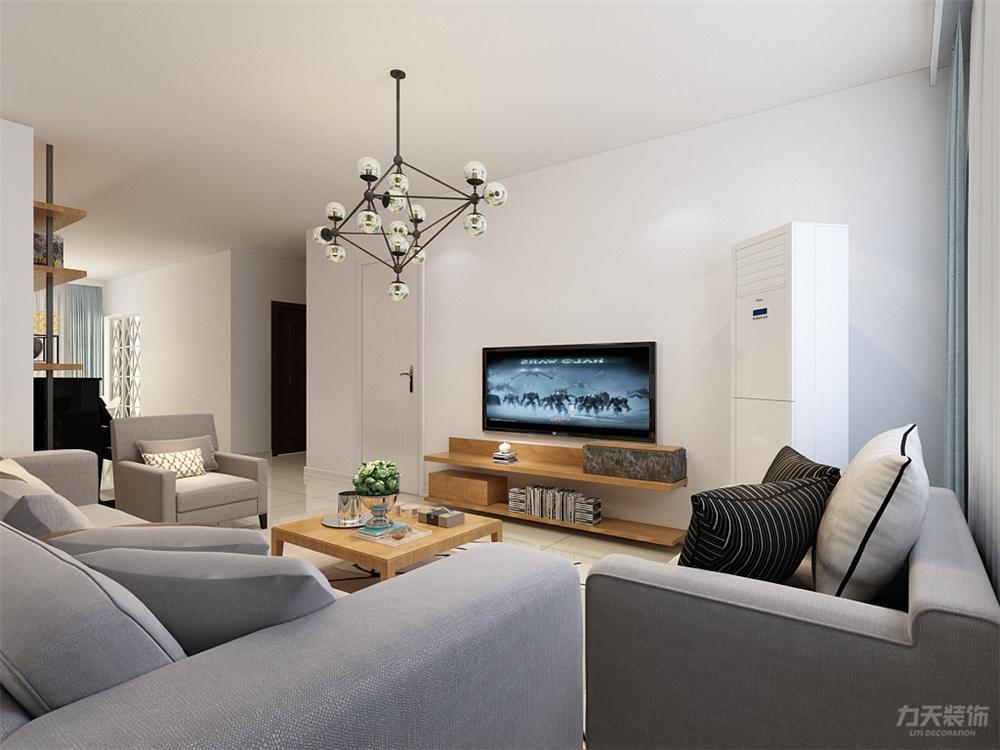 简约 三居 白领 收纳 80后 小资 远洋城 客厅图片来自阳光放扉er在力天装饰- 远洋城134㎡的分享