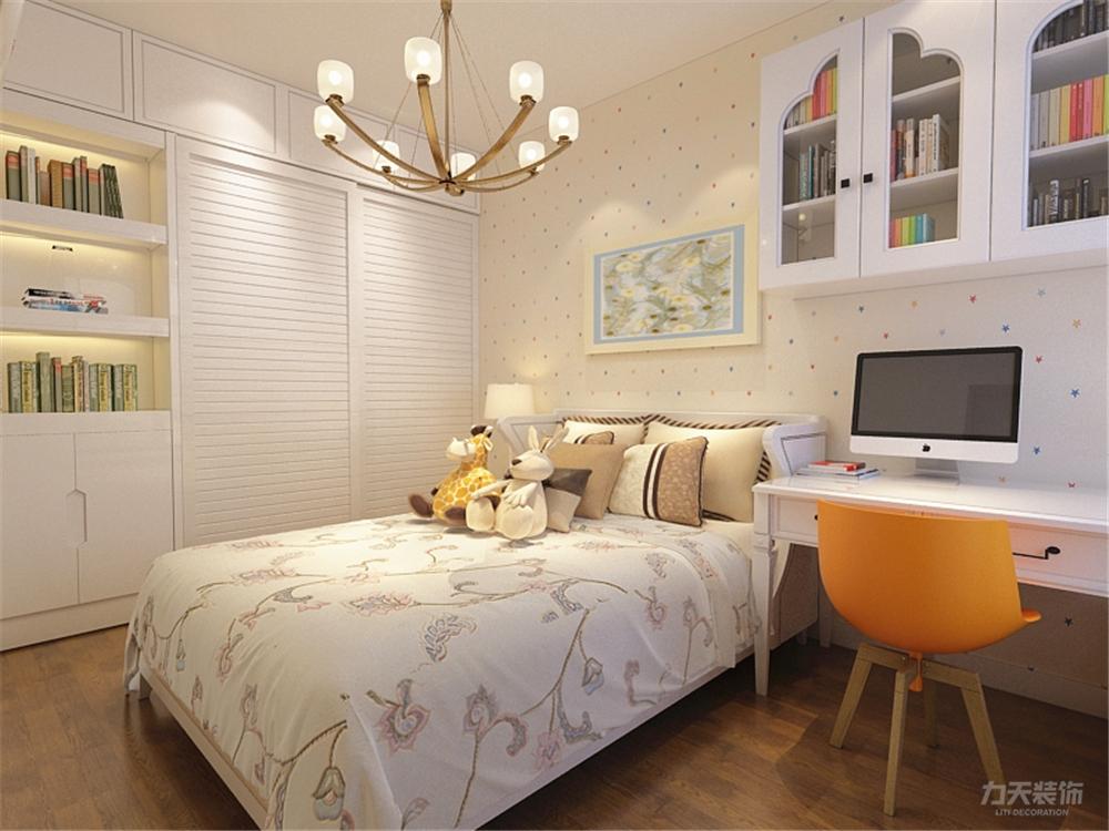 卧室图片来自阳光放扉er在力天装饰-天房天拖98㎡的分享