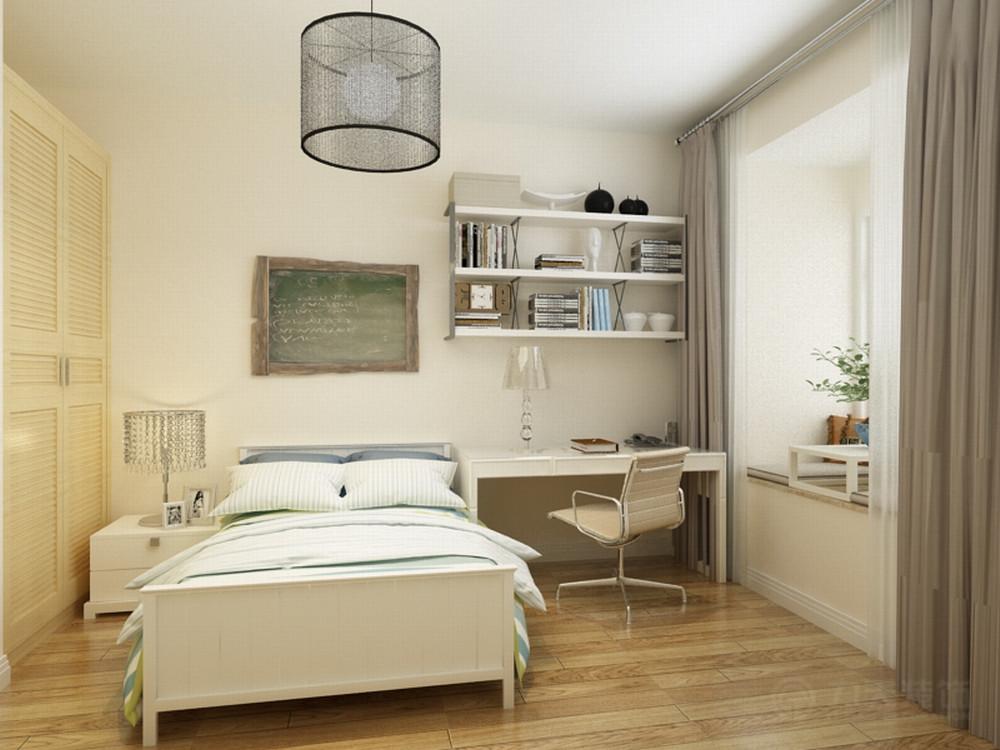 卧室图片来自阳光力天装饰在现代风格  橄榄郡  137㎡的分享