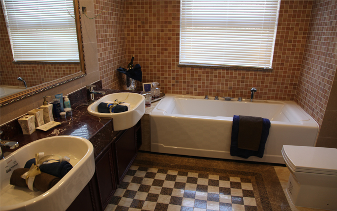 简约 欧式 新古典 三居 收纳 卫生间图片来自成都V2装饰在香草慕斯,岁月流连的分享