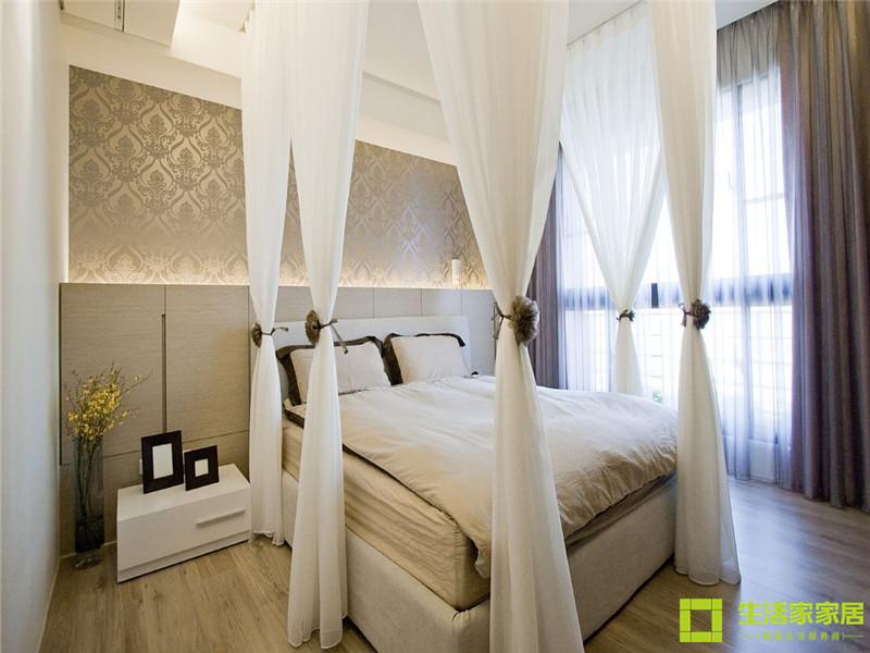 简约 白领 80后 小资 现代简约 生活家家居 卧室图片来自天津生活家健康整体家装在府上和平 现代简约的分享