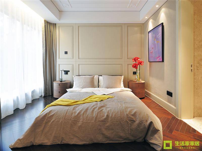 简约 二居 白领 收纳 80后 小资 现代简约 生活家家居 卧室图片来自天津生活家健康整体家装在雅仕兰庭 96的分享