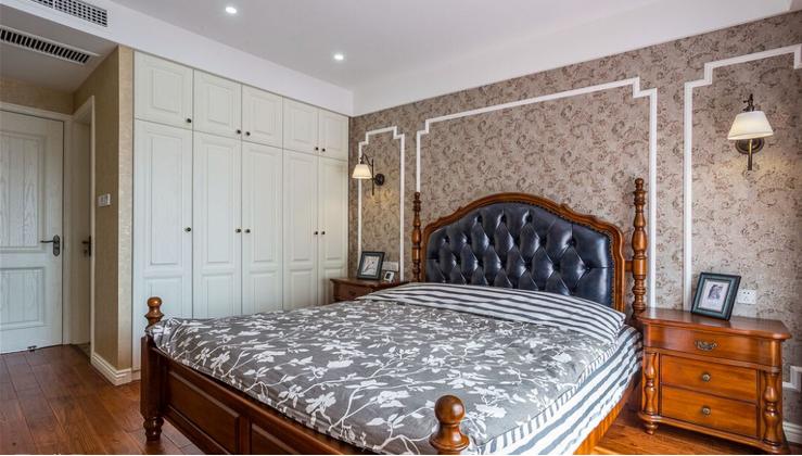 别墅 卧室图片来自西安紫苹果装饰工程有限公司在曲江新都的分享