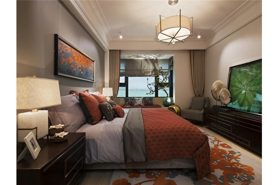 三居 白领 旧房改造 收纳 80后 小资 舒适 温馨 高富帅 卧室图片来自fy1831303388在彩叠园新中式的分享