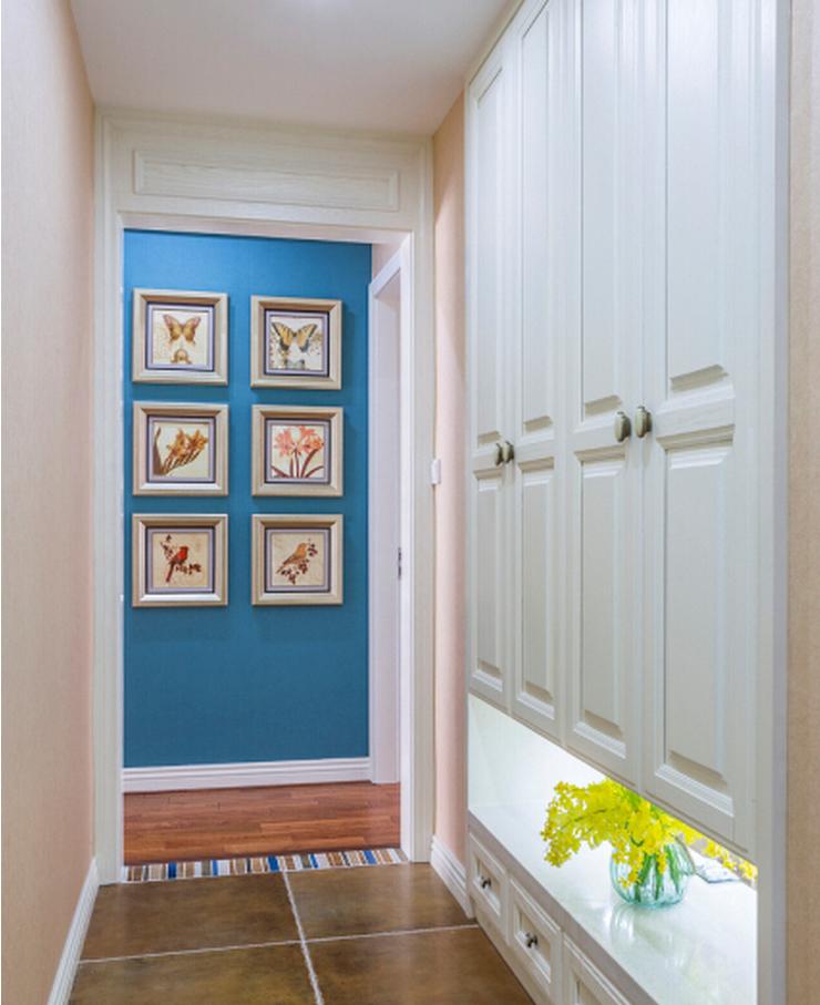 别墅 玄关图片来自西安紫苹果装饰工程有限公司在曲江新都的分享